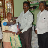 Distribution of essential things for flood relief